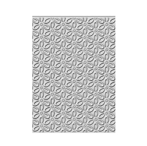 Coffee Bean Flowers 3D Embossing Folder by Creative Expressions Folders EF3D-027