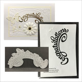 Congratulations Metal Word Die by Serendipity Dies 049 - Inspiration Station Scrapbook Store & Retreat