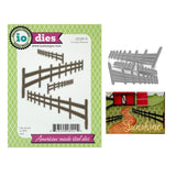 Country Fences Metal Die Cut Set by Impression Obsession Dies DIE380-R - Inspiration Station Scrapbook Store & Retreat