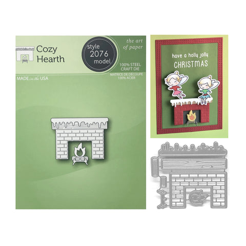 Cozy Hearth Metal Die Set by Poppystamps Dies 2076 - Inspiration Station Scrapbook Store & Retreat