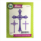 Crosses Metal Die Cut Set by Impression Obsession Dies DIE392-Z - Inspiration Station Scrapbook Store & Retreat