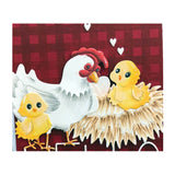 Cute Chicken Die Cut Set by Frantic Stamper cutting dies FRA-DIE-10870