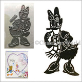 Daisy Duck Thin Metal Die by Disney and Character World DUS0104 - Inspiration Station Scrapbook Store & Retreat
