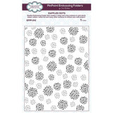 Dappled Dots PinPoint Embossing Folder by Creative Expressions Folders EFPP-015 - Inspiration Station Scrapbook Store & Retreat