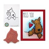 Darby Dog Stamp by Impression Obsession F21162 - Inspiration Station Scrapbook Store & Retreat