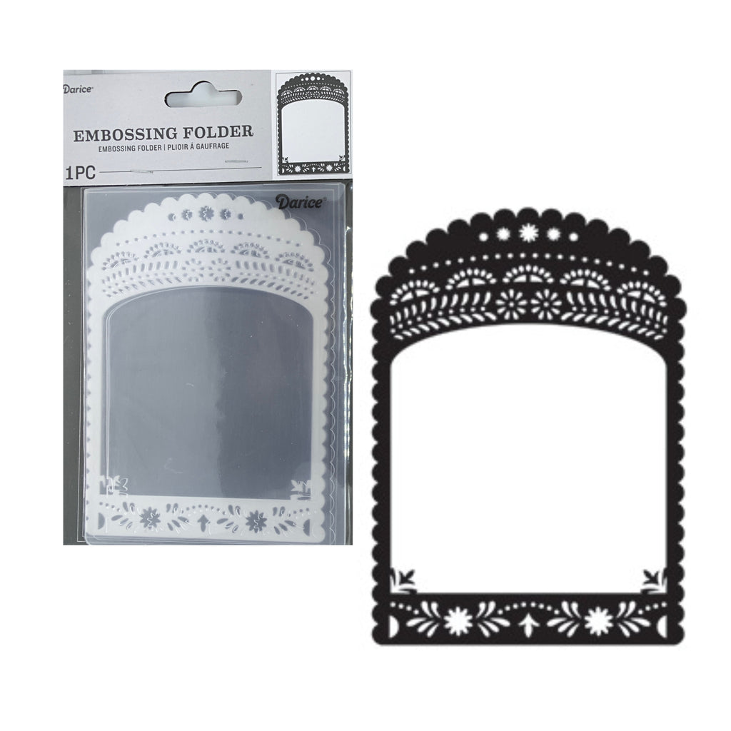 Decorative Border Embossing Folder by Darice Embossing Folders 30041353 - Inspiration Station Scrapbook Store & Retreat