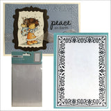 Decorative Frame Embossing Folder EF239 by KAISERCRAFT - Inspiration Station Scrapbook Store & Retreat