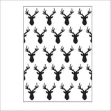 Deer Heads Embossing Folder By Darice 30032535 - Inspiration Station Scrapbook Store & Retreat