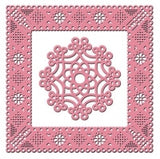 Dainty Dutch Deco Frame Square Die Cut by Cheery Lynn Designs - Inspiration Station Scrapbook Store & Retreat