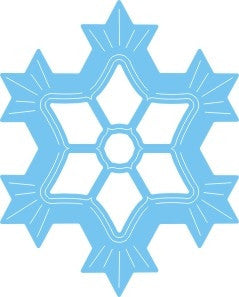 Snow Flake 4 Die Cut by Cheery Lynn Designs - Inspiration Station Scrapbook Store & Retreat
