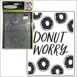 Donut Worry embossing folder by Darice embossing folders 30023118