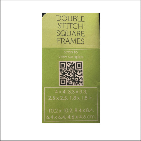 fd831b0118e ... Double Stitch Square Frames Die Cut Set by Poppystamps Dies 2000 -  Inspiration Station Scrapbook Store ...