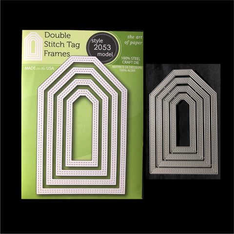 Double Stitch Tag Frames Die Cut Set by PoppyStamps Dies 2053 - Inspiration Station Scrapbook Store & Retreat