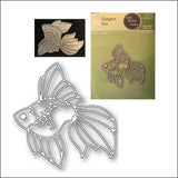 Elegant Koi Die Cut by Poppystamps Dies 2034 - Inspiration Station Scrapbook Store & Retreat
