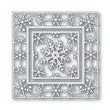 Elegant Snowflake Double Frame Metal Die Cut Set by Memory Box Dies 94024 - Inspiration Station Scrapbook Store & Retreat