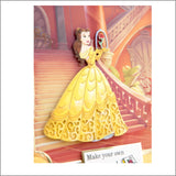 Enchanted Belle Thin Metal Die by Disney and Character World DUS0604 - Inspiration Station Scrapbook Store & Retreat