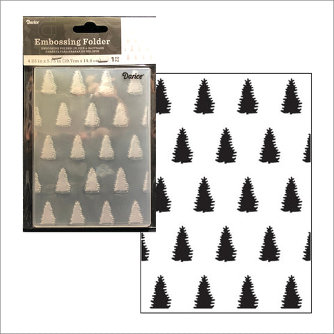 Evergreen Embossing Folder By Darice Embossing Folders 30032544 - Inspiration Station Scrapbook Store & Retreat
