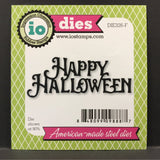 Happy Halloween metal die - Impression Obsession dies DIE326-F