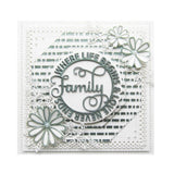 Circle Sayings Family Metal Die by Sue Wilson for Creative Expressions Dies CED26007