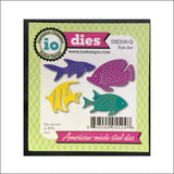 Fish Die Cut Set by Impression Obsession Dies DIE559-Q - Inspiration Station Scrapbook Store & Retreat