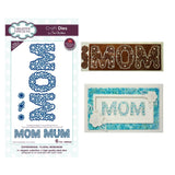 Floral Mom Mum Metal Die Set Word by Creative Expressions CED5434 - Inspiration Station Scrapbook Store & Retreat