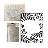 Flowers & Leaves Embossing Folder by Darice Embossing Folders 30032606 - Inspiration Station Scrapbook Store & Retreat