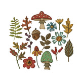 Funky Foliage Thinlits Metal Die Set by Sizzix 663087 - Inspiration Station Scrapbook Store & Retreat