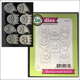 Ghosties Metal Die Cut Set by Impression Obsession Dies DIE308-V - Inspiration Station Scrapbook Store & Retreat