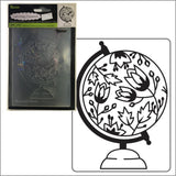 Globe embossing folder by Darice embossing folders 30023104