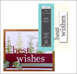 GRAND BEST WISHES die by MEMORY BOX dies 99039