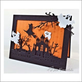 Halloween Set Die Cut Set by Impression Obsession Dies DIE114-O - Inspiration Station Scrapbook Store & Retreat