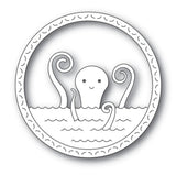 Happy Octopus Metal Die Cut by Memory Box Dies 94227 - Inspiration Station Scrapbook Store & Retreat