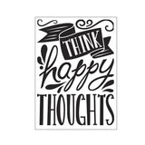 Happy Thoughts Embossing Folder by Darice Embossing Folders 30041289 - Inspiration Station Scrapbook Store & Retreat - Inspiration Station Scrapbook Store & Retreat