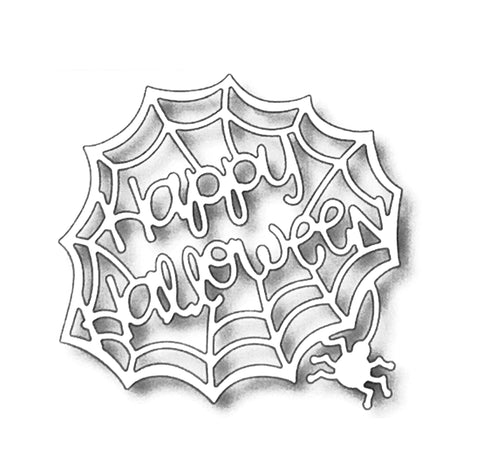 Happy Halloween Metal die cut Words Tutti Designs craft dies