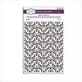 Heart Scrolls Embossing Folder by Creative Expressions Folders EF-091 - Inspiration Station Scrapbook Store & Retreat