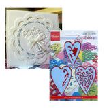 3 Hearts metal Cutting Dies by Marianne Designs Dies LR0159