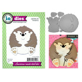 Hedgehog Metal Die Cut Set by Impression Obsession Dies DIE789-ZZ - Inspiration Station Scrapbook Store & Retreat