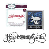 Here Comes Santa Industrial Chic Thin Metal Die by Sue Wilson for Creative Expressions Dies CED3167 - Inspiration Station Scrapbook Store & Retreat