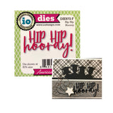 Hip Hip Hooray Words Die Cut by Impression Obsession Dies DIE672-F - Inspiration Station Scrapbook Store & Retreat