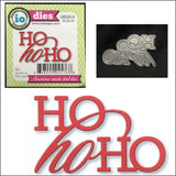 Ho Ho Ho Words Die Cut by Impression Obsession Dies DIE595-B - Inspiration Station Scrapbook Store & Retreat