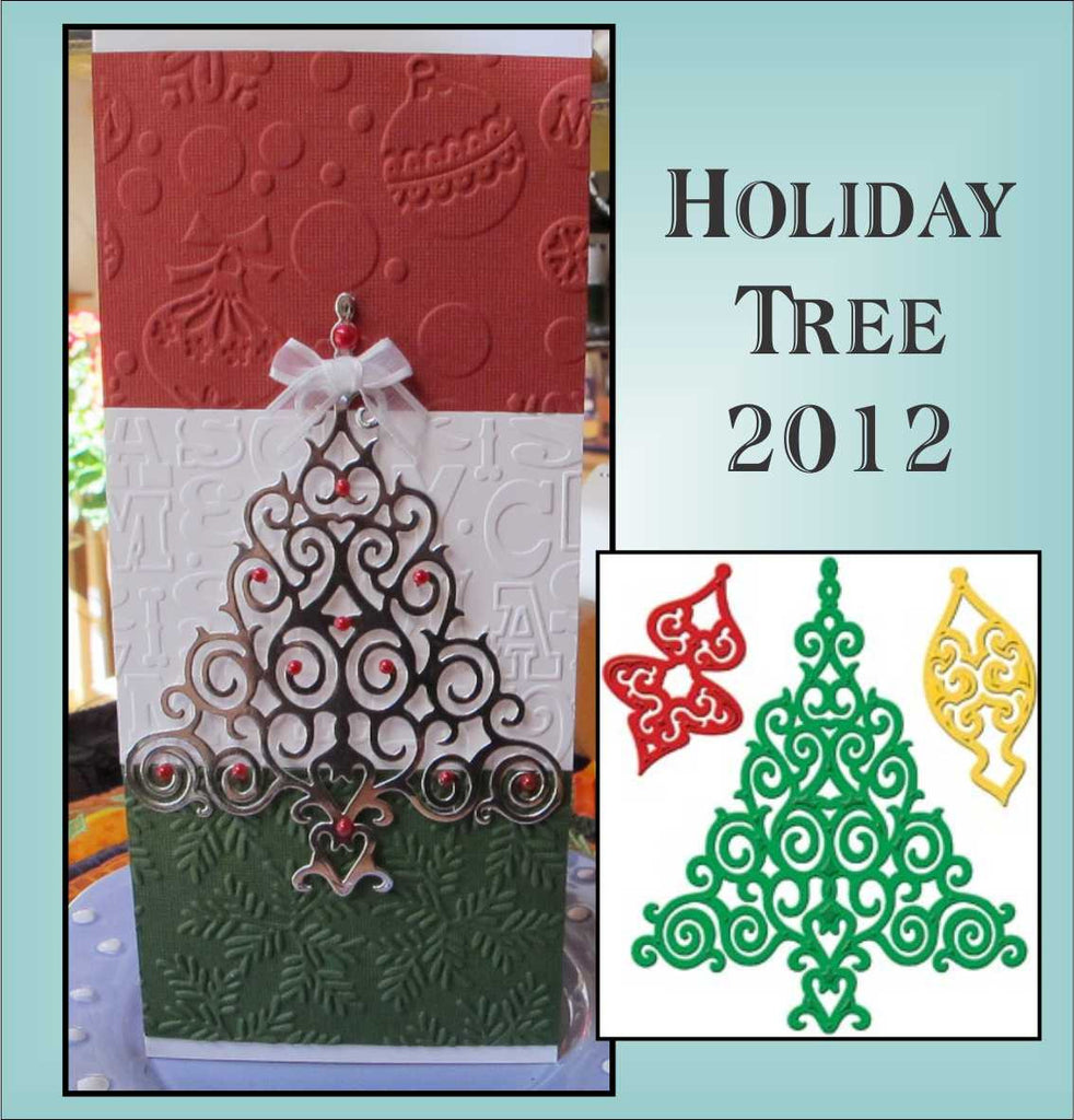 Holiday Tree thin metal cutting die set by Spellbinders die S4-339 - Inspiration Station Scrapbook Store & Retreat