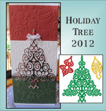 Holiday Tree thin metal cutting die set by Spellbinders die S4-339
