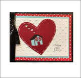Home Is Where The Heart Is Die Cut by Memory Box Dies 99928 - Inspiration Station Scrapbook Store & Retreat