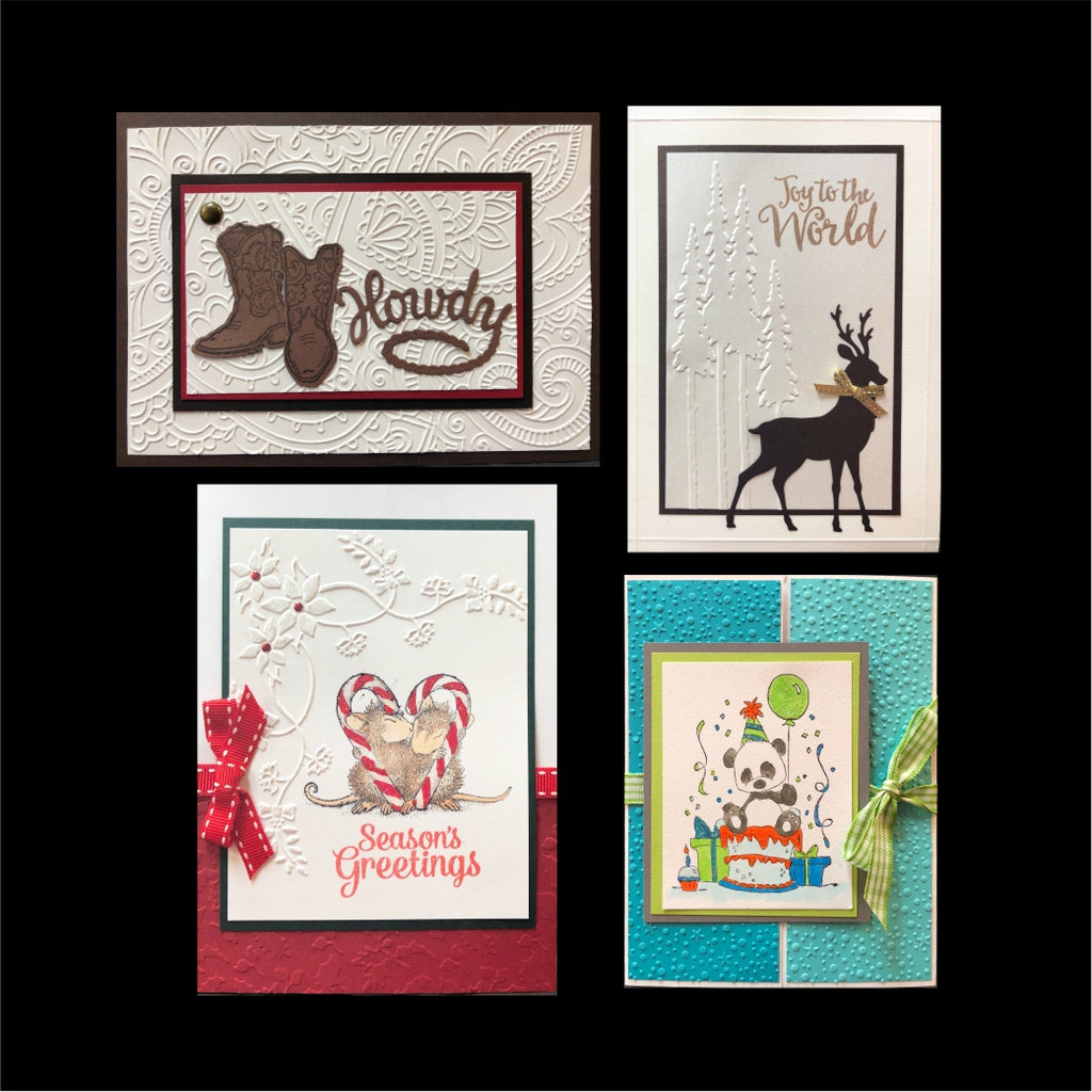 August 2018 Handmade Card Kit - Card Class to Go