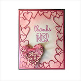Lace Cut Heart Die Set by Memory Box Dies 99939 - Inspiration Station Scrapbook Store & Retreat