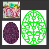 Lace Egg Three thin metal die by Cheery Lynn Designs