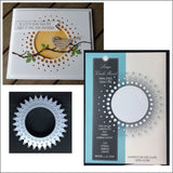 Large Circle Burst Metal Die Cut by Memory Box 98478 - Inspiration Station Scrapbook Store & Retreat