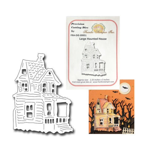 Large Haunted House Die Cut By Frantic Stamper Dies FRA-DIE-09951 - Inspiration Station Scrapbook Store & Retreat