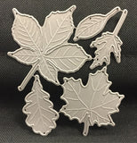 Large Leaves Set Metal Die Cuts by Impression Obsession Dies DIE030-S - Inspiration Station Scrapbook Store & Retreat