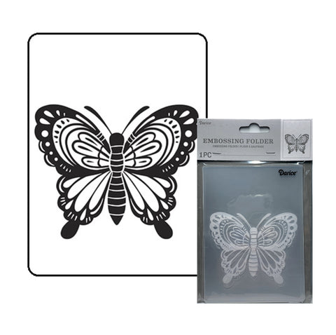 Large Butterfly Embossing Folder By Darice craft folders